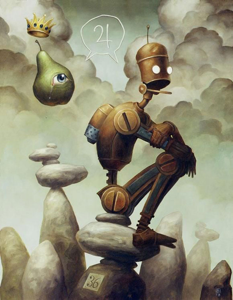 Digital paintings by Brian Despain