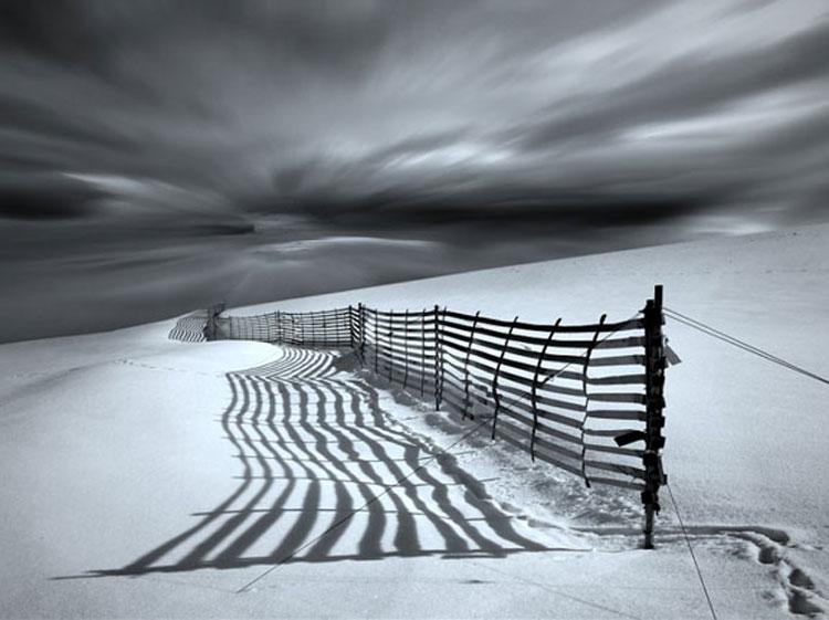 Snow scene by Veronika Pinke