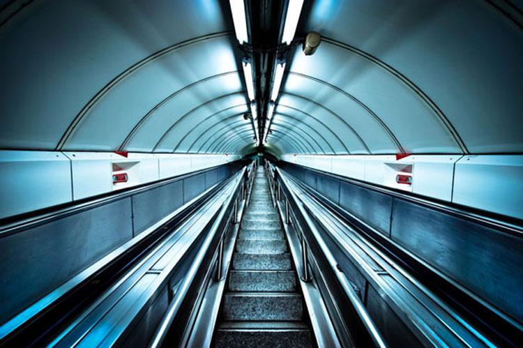 London Underground by Jason Howes