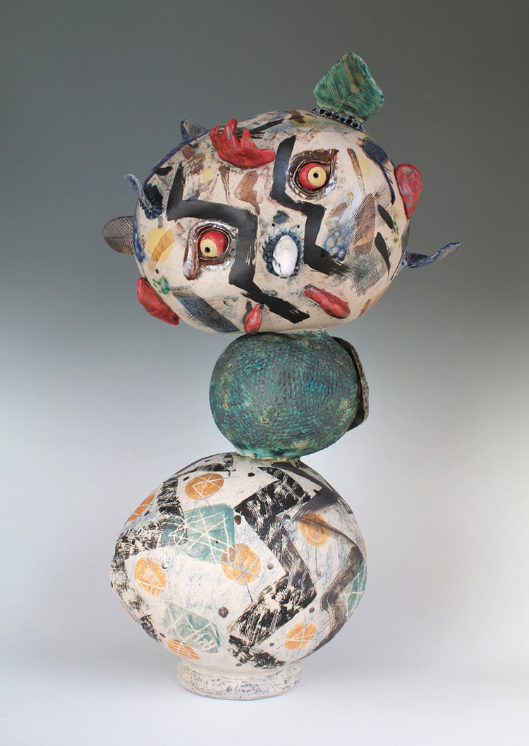 Clouds in the sky - Ceramic sculptures