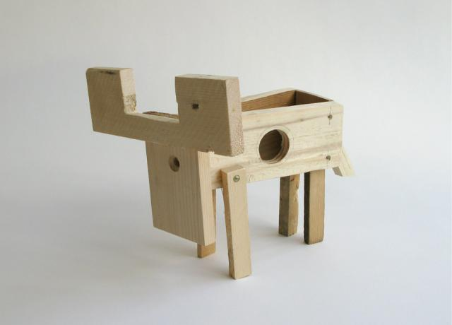 The Offcuts - Animals made from discarded pallets